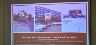 A fost lansată o platformă on-line dedicată orașului Chișinău