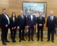 Primarul general interimar al Chișinăului a avut o întrevedere cu primarul orașului Riga