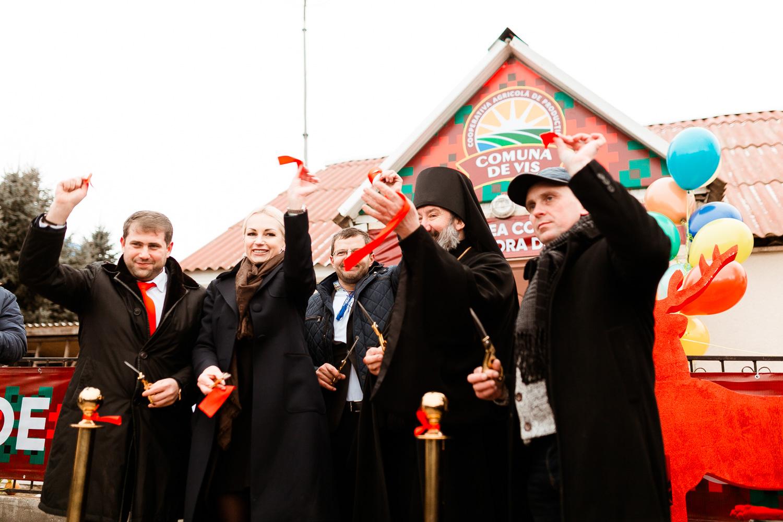 Partidul Politic Șor a deschis primul colhoz în comuna Jora de Mijloc