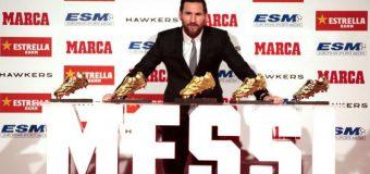 """Messi a primit Gheata de Aur pentru a cincea oară în carieră: """"Nu mă aşteptam la asta, atunci, când totul a început"""""""
