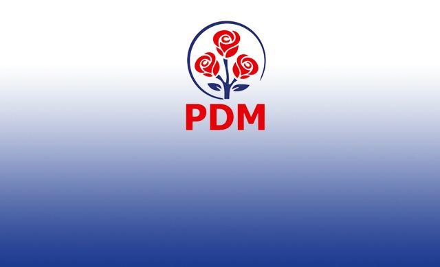 Poziția PDM referitor la demiterea Guvernului Sandu prin moțiunea depusă de PSRM