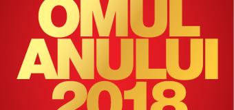 Revista VIP magazin a lansat tradiționalul concurs OMUL ANULUI 2018