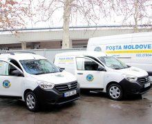 Poșta Moldovei își mărește parcul auto