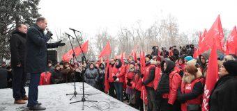 """PSRM, la începutul campaniei electorale: """"Avem nevoie de schimbări cardinale, pe care să le efectuăm împreună"""""""
