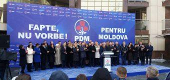 """PD s-a lansat în campania electorală. Plahotniuc: """"Pentru noi vorbesc faptele"""""""