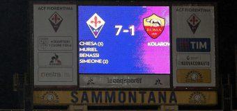 Ruşine istorică pentru AS Roma. A primit 7 goluri şi a fost eliminată din Cupa Italiei