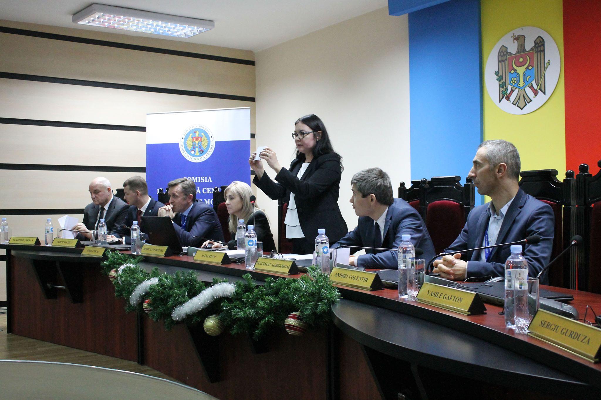 Doi potențiali concurenți electorali și-au aflat ordinea prealabilă de înscriere în buletinul de vot