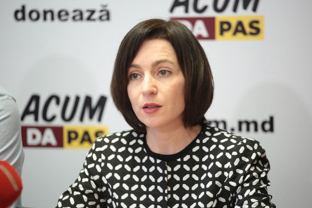 """Maia Sandu, despre funcția de Prim-ministru: """"Nu am venit să facem jocuri"""""""