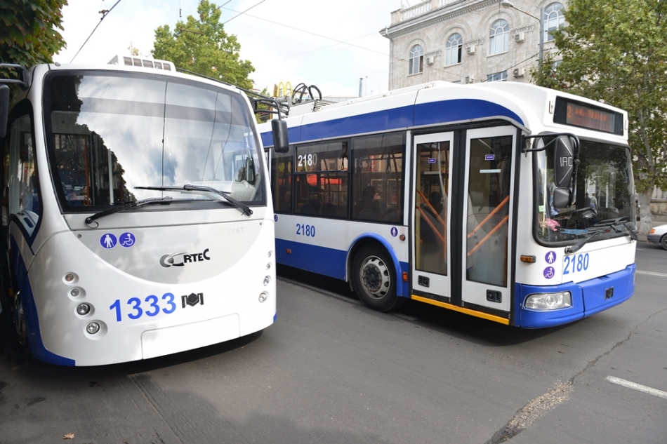 O nouă rută de troleibuz va fi lansată la Chișinău