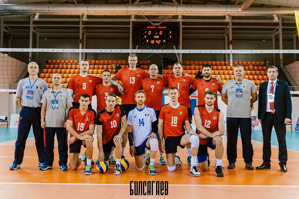 Naționala de volei a Republicii Moldova a învins Islanda