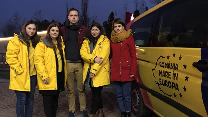 Susținătorii candidatului George Simion la alegerile europarlamentare – interziși în R. Moldova
