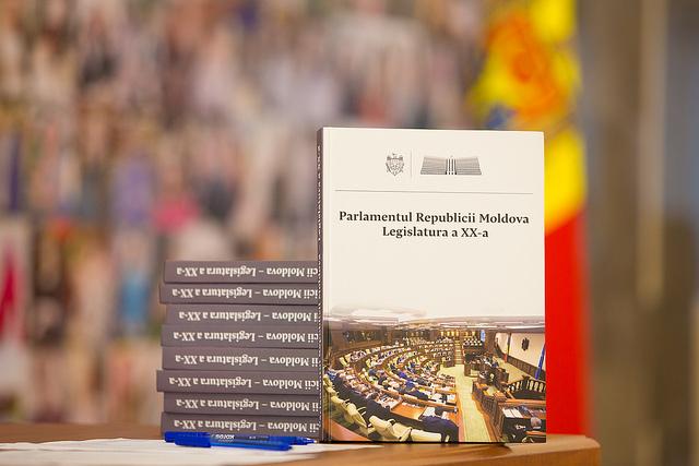 Albumul Parlamentului R. Moldova de legislatura a XX-a, lansat