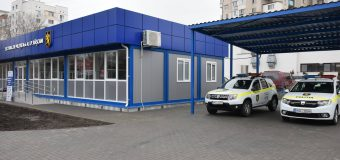 Sector de poliție modular inaugurat în capitală (FOTO)