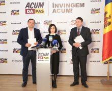 """Declarație: """"Noi, cei din blocul ACUM, vom închide dosarul transnistrean cu un rezultat în favoarea Moldovei și a cetățenilor"""""""