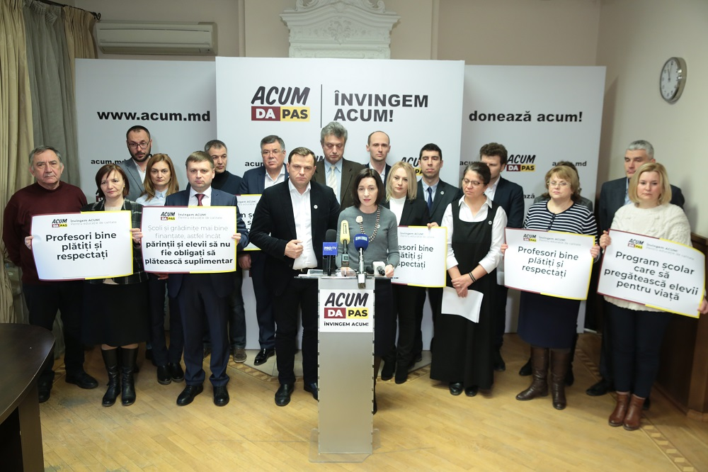 Blocul ACUM Platforma DA și PAS și-a lansat angajamentele în educație