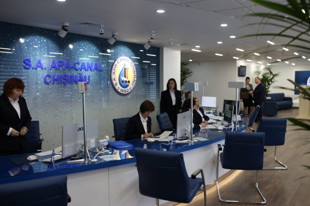 """""""Apă-Canal Chișinău"""" a deschis uşile unui nou Centru comercial și asistență clienți"""