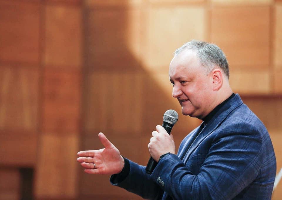 Dodon – la Comrat: După 24 februarie la fel este viață