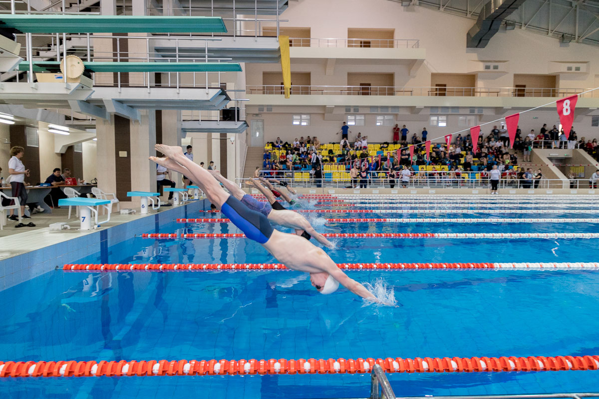 A avut loc campionatul Moldovei de iarnă la înot