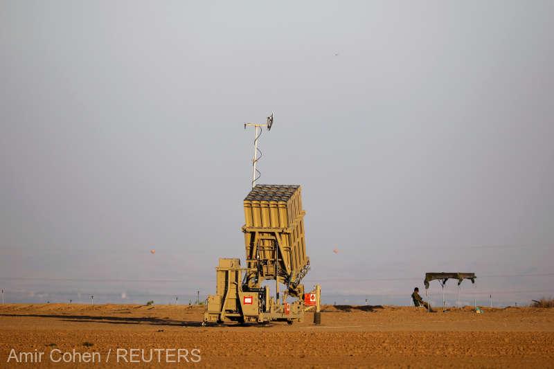 Israel: Două rachete trase din Fâşia Gaza spre regiunea Tel Aviv. Cum a reacționat