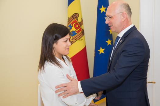 Campioana europeană la lupte Anastasia Nichita a primit un apartament din partea statului