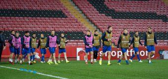 Echipa națională de fotbal a R. Moldova joacă astăzi cu Turcia