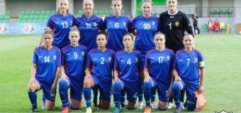 Noul clasament al Naționalei Moldovei la fotbal feminin