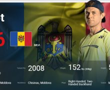Radu Albot – printre primii 50 cei mai buni jucători de tenis ai lumii