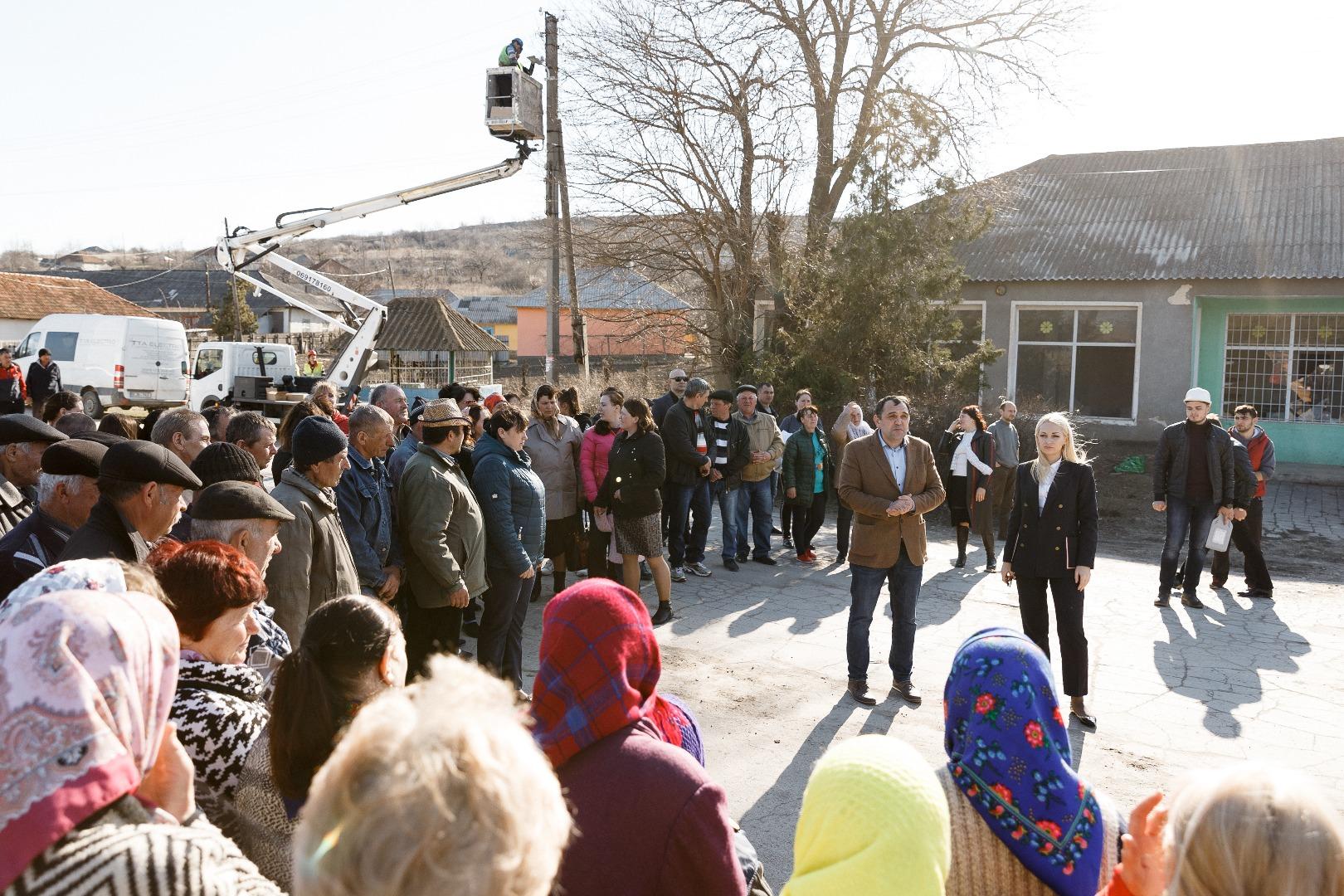 Partidul Șor: Ilan Șor a început modernizarea satelor din circumscripția sa