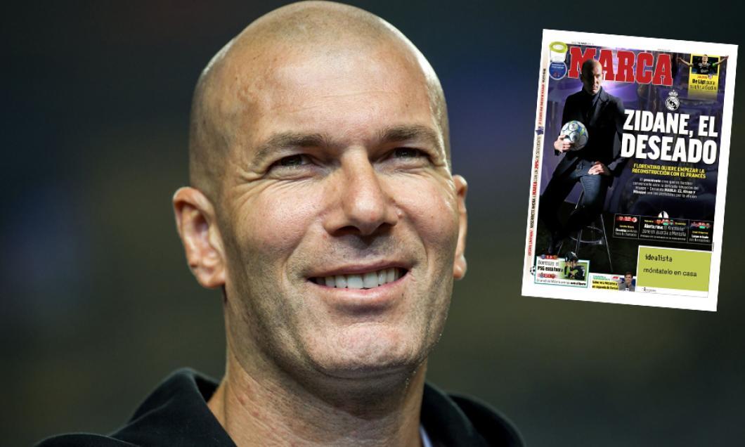 Zinedine Zidane este noul antrenor al Real Madrid