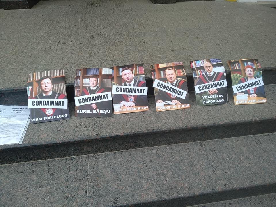 """Mișcarea de Eliberare a Moldovei, la CC. Cei 6 judecători – """"condamnați pe viață la statutul de judecători anticonstituționali"""""""