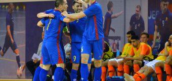5-3. Victorie pentru naționala de futsal a Moldovei