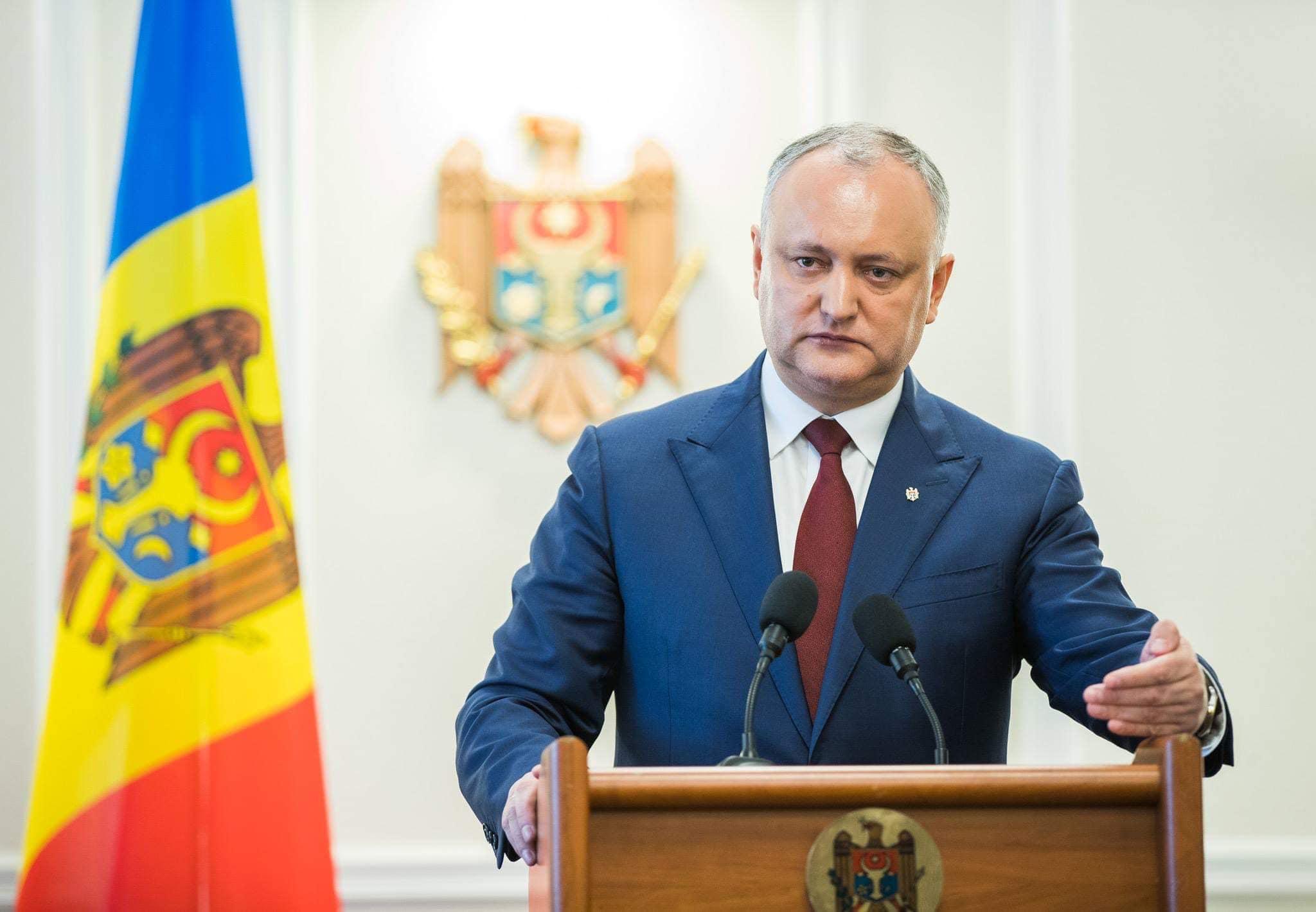Mesajul lui Igor Dodon adresat președintelui francez