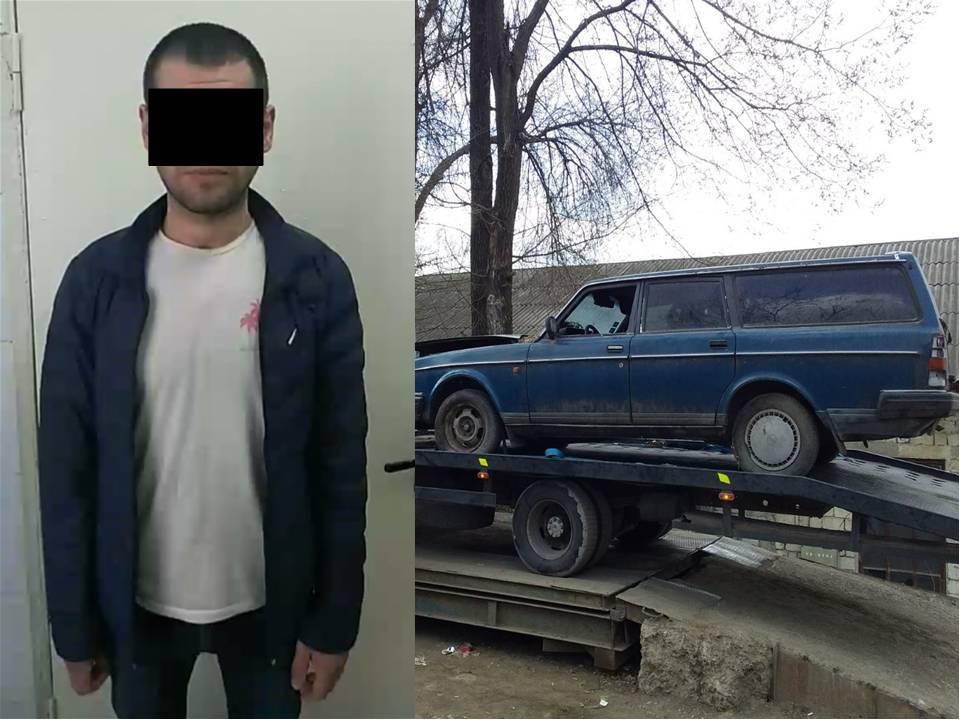 Un tânăr din Chișinău – reținut pentru furtul unui automobil