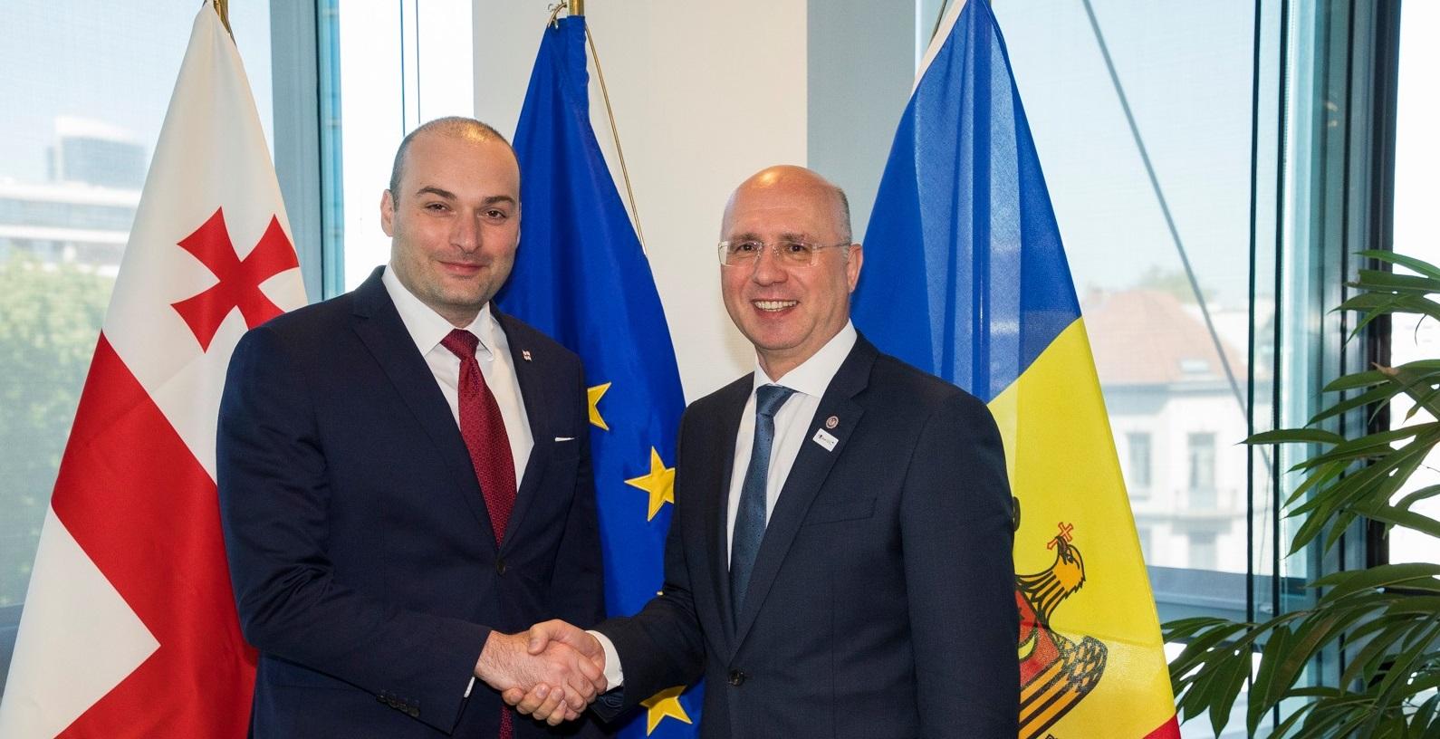 Prim-ministrul Pavel Filip a avut astăzi o întrevedere cu Premierul Georgiei