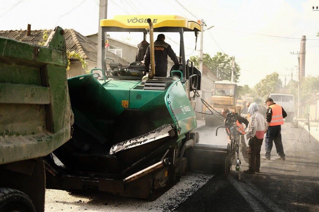 Ilan Șor: La Orhei, modernizarea drumurilor este în plină desfășurare