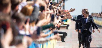 Noul președinte al Ucrainei, Volodimir Zelenski, a fost investit