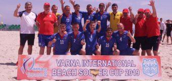 Naționala Moldovei de fotbal pe plajă – câștigătoarea celei de-a III-a ediții a turneului de la Varna