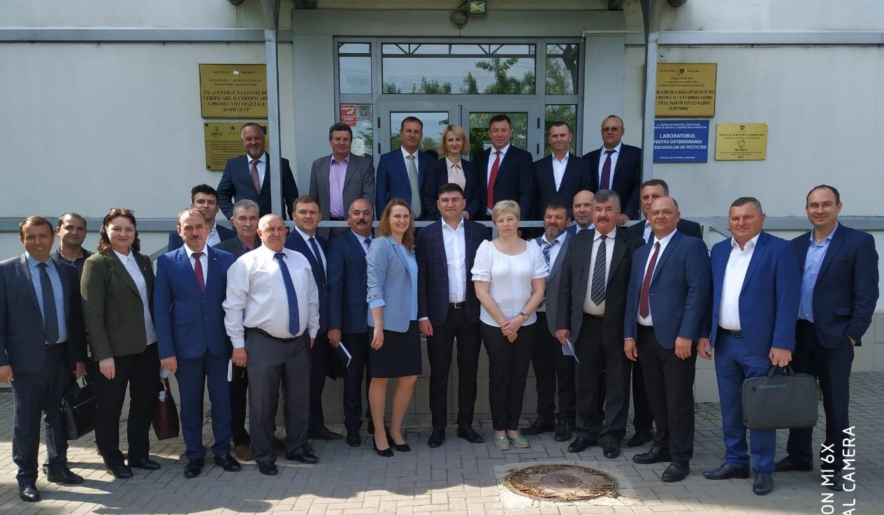 Conducerea ANSA – în vizită la Laboratorul central fitosanitar din Chișinău