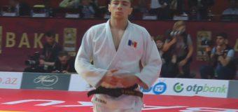 Un judocan moldovean a câștigat Grand Slam-ul de la Baku