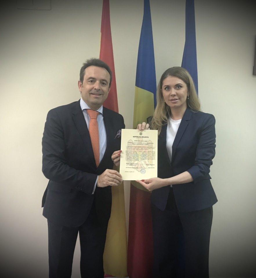 Republica Moldova deschide un Consulat Onorific în nordul Spaniei