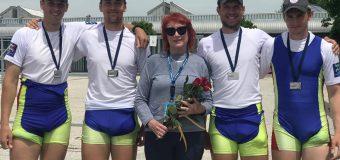 Argint pentru Moldova la Cupa Mondială de canotaj