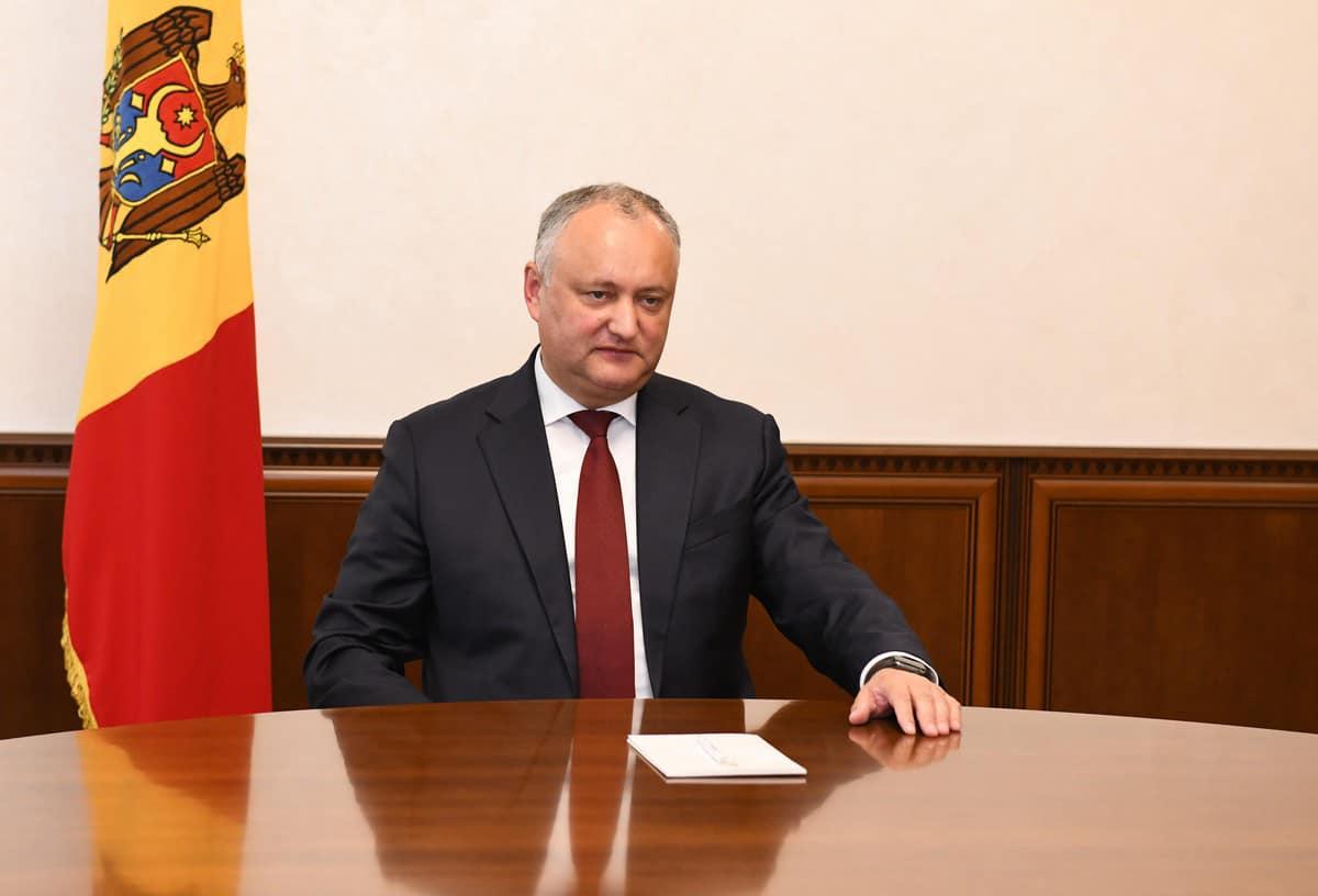 Președintele Dodon va invita, din nou, liderii partidelor parlamentare la discuții. Detalii