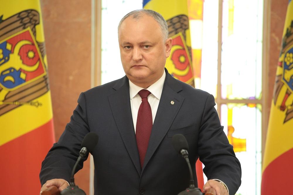 """Igor Dodon a depus o sesizare la Curtea Constituțională: """"Consecințele să vi le asumați"""""""