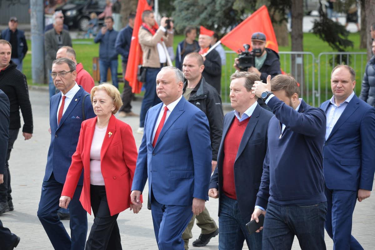 """Președintele Dodon: """"Ziua Victoriei din acest an este specială pentru noi"""""""