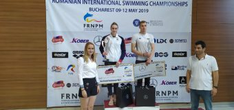 O sportivă din Tiraspol desemnată cea mai bună înotătoare a Campionatului deschis al României