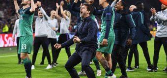 Ajax – Tottenham 2-3. Nebunie la Amsterdam. Moura a marcat în ultima secundă. Tottenham – Liverpool e marea finală