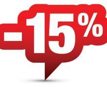 15% reducere pentru plătitorii impozitului pe bunurile imobiliare sau funciar până la 30 iunie