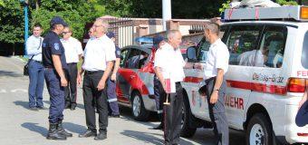 7 autospeciale de intervenție – oferite Republicii Moldova din partea pompierilor din Austria