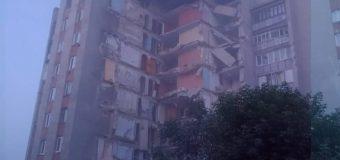 Un bloc de locuit din Otaci s-a prăbușit