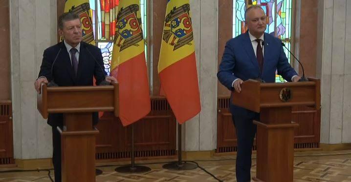 """Dmitri Kozak, la Chișinău: """"Este important să scoatem barierele care sunt pentru a colabora în toate domeniile"""""""